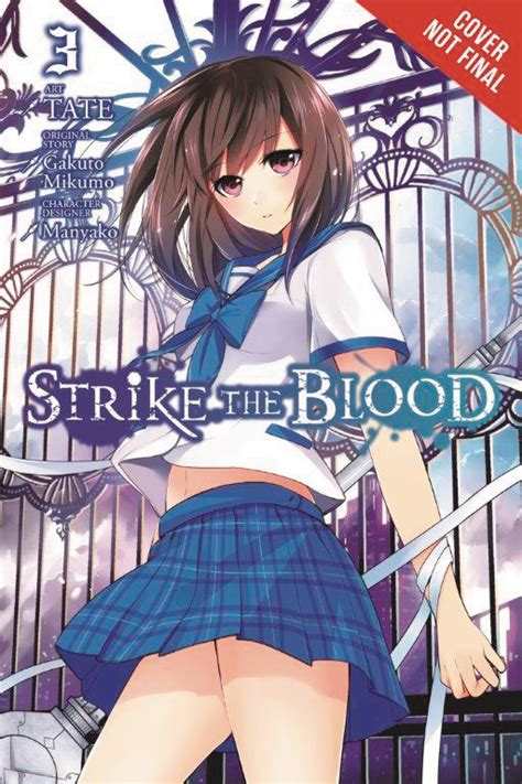 strike the blood vol 8 light novel the tyrant and the fool books mar161909 strike the blood light novel sc vol 03