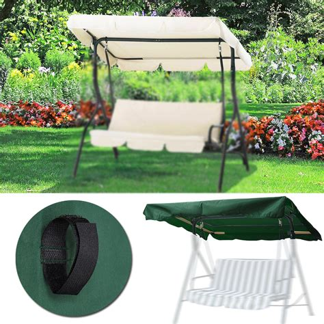 2 seater garden swing replacement canopy replacement canopy for swing seat garden hammock 2 3