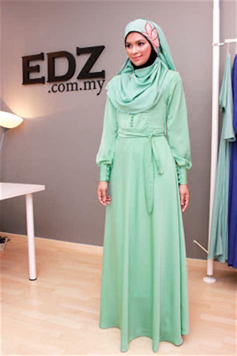 Baju Jubah Warna Green Mint apa warna raya korang tahun ni journey of to be by shakina farhan