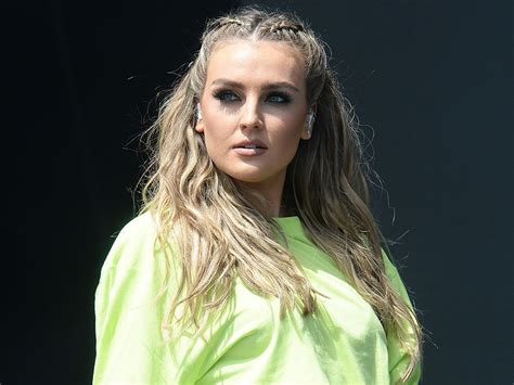 little mix perrie edwards perrie edwards gets little mix into trouble at radio 1 s