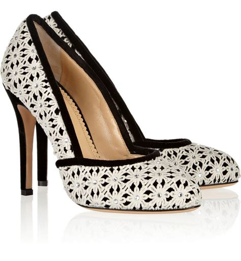 black and white patterned heels black wedding heels