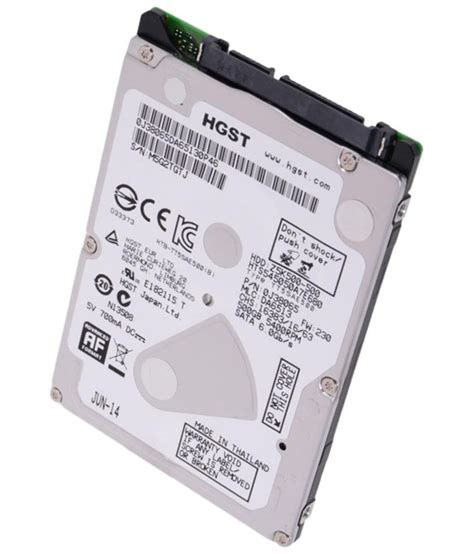 Hardisk Laptop Hitachi 500gb hgst hitachi 500gb laptop sata drive buy