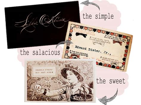 make a calling card diy calling cards business personal vintage