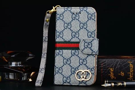 gucci leather wallet phone case  samsung galaxy  edge