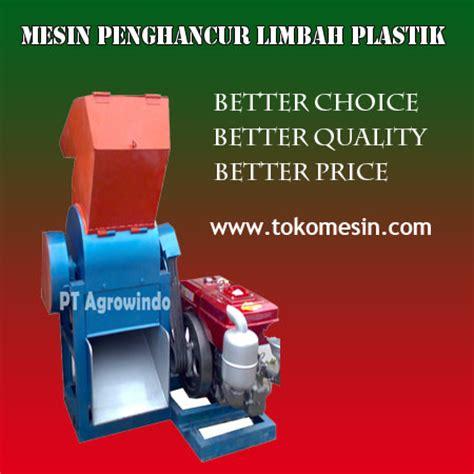 Mesin Daur Ulang Plastik mesin penghancur plastik perajang limbah plastik toko