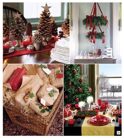 cadeau de table noel decoration table de noel avec du houx