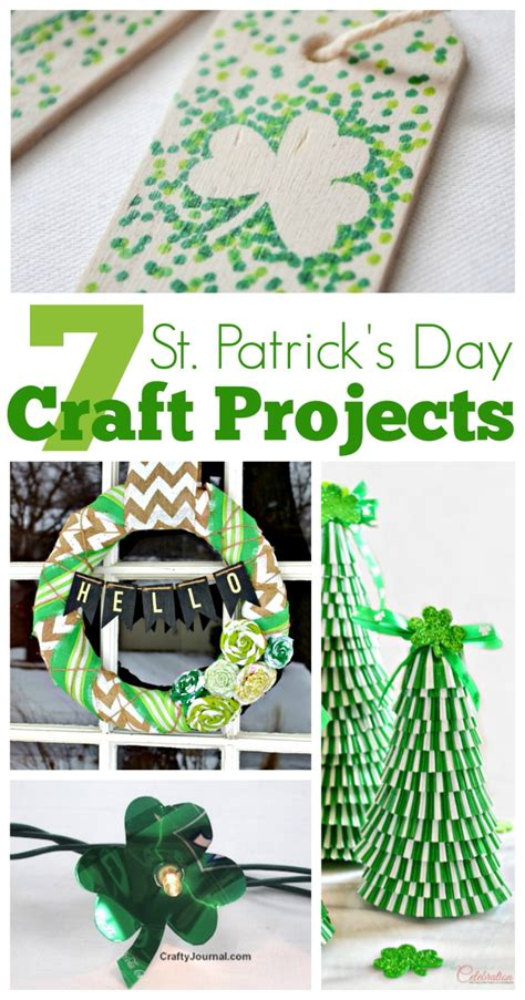one day craft projects 7 st s day craft projects the crafty stalker