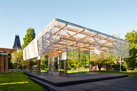 pavillon kunst the dulwich pavilion if do archdaily