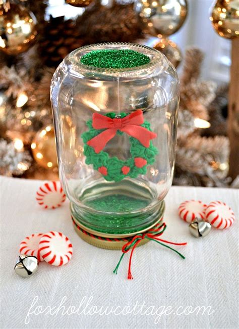 77 best christmas jar crafts images on pinterest