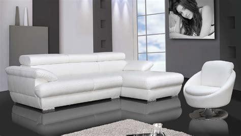 White Leather Corner Sofa Bed Corner Sofa White 3 Seater Polyurethane Corner Sofa Bed In White Toronto Maisons Thesofa