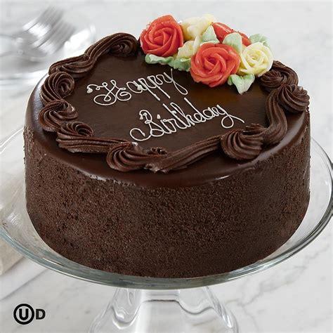 Chocolate Birthday Cake by Birthday Cake 6 Quot Three Layer Chocolate Happy Birthday Cake