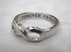 Friends Forever Infinity Infinity Ring Forever Friends Infinity Ring By Basiajewelry