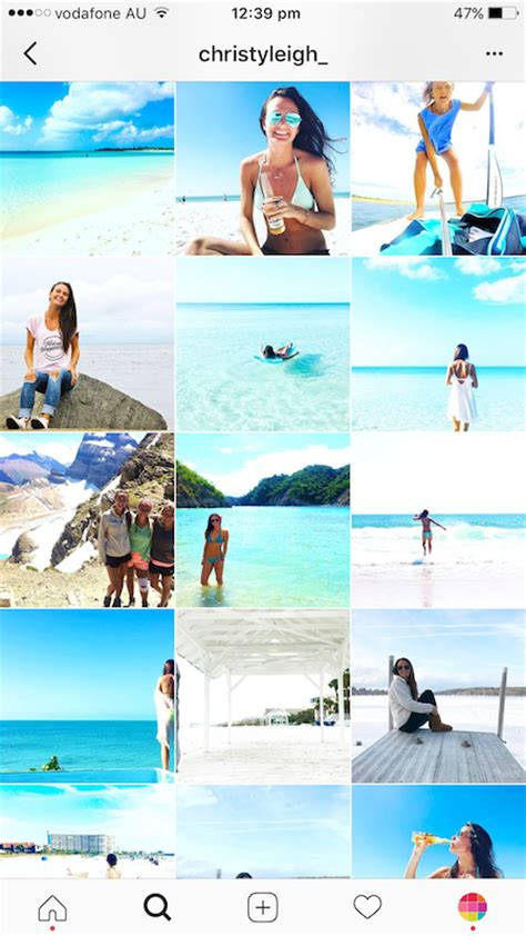 blogger on instagram behind the feed with christy leigh travel blogger