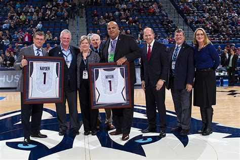 Uconn Mba Program Director by Naydens Donate 3 Million To Basketball Facility