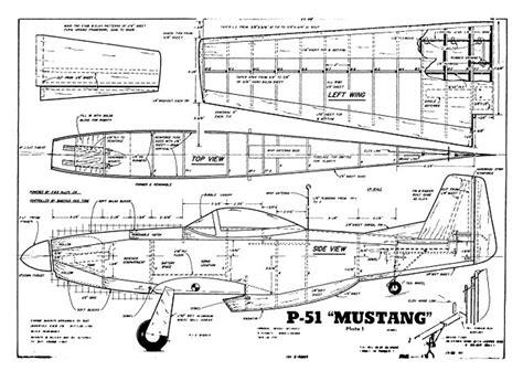 rc mustang plane p 51 mustang plan thumbnail model ucak