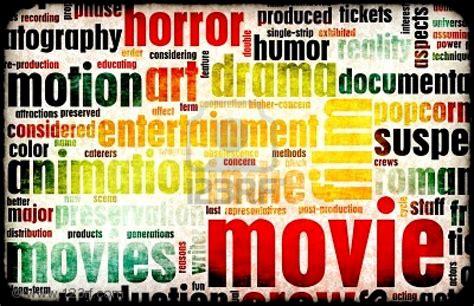 Film Genres | cinema film genres esl resources