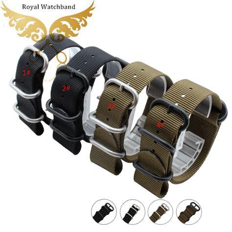 Nato Zulu 20mm watchbands 18mm 20mm 22mm 24mm zulu nato