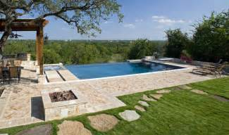 Modern Farmhouse Elevations what is an infinity pool keith zars pools