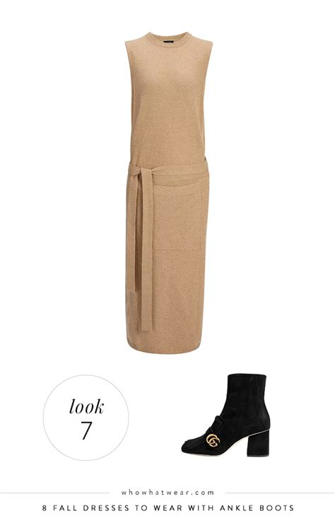 Camel Com Sweepstakes - 8 fall dresses to wear with ankle boots whowhatwear