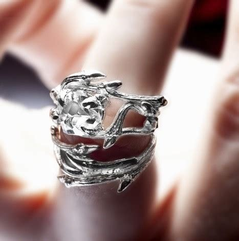 elvish herkimer ring twigs and by