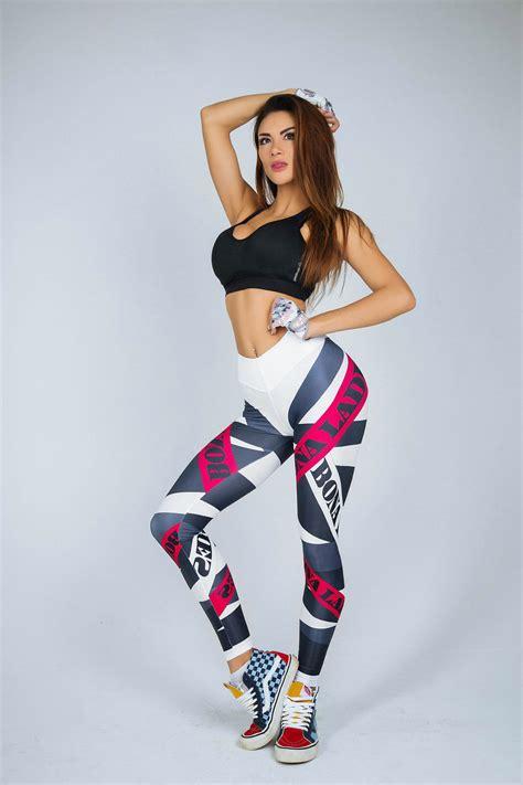 Celana Legging Importyogagym workout print sports fitness stretch trousers ebay