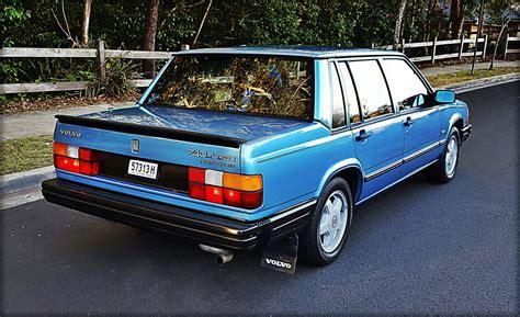 740 volvo turbo the 1986 volvo 740 turbo cars agency