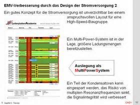 emv layout seminar leiterplattenakademie seminar cad1