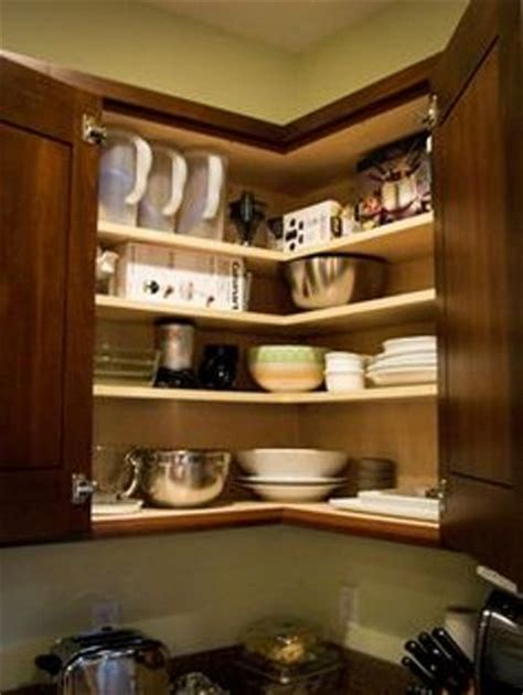 ideas for stylish and functional kitchen corner cabinets how to organize deep corner kitchen cabinets 5 tips for