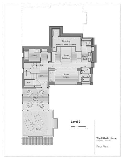hillside floor plans the hillside house by sb architects