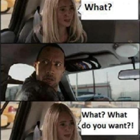 Witch Mountain Meme - the rock parks the car in race to witch mountain meme