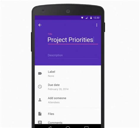 Material Design Layout For Android | android material xml layout for create activity stack