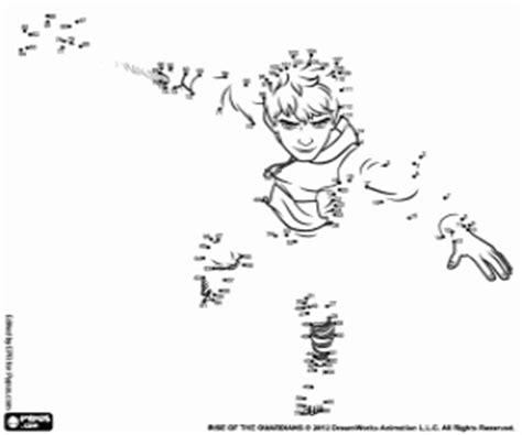imagenes de jack frost para dibujar juegos de el origen de los guardianes para colorear