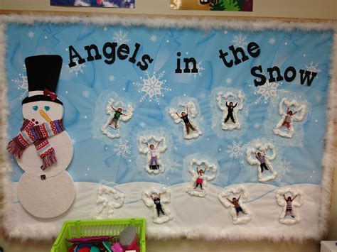 winter bulletin board preschool display it pre k