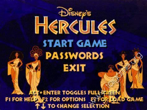 download free full version of hercules game for pc disney s hercules action game download free full games