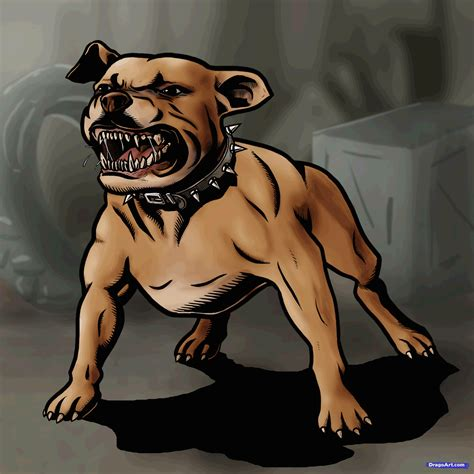 how to a puppy pitbull how to draw a pitbull step by step pets animals free drawing tutorial