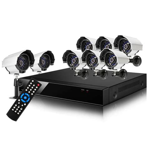 8 dvr surveillance system 8 outdoor cctv home