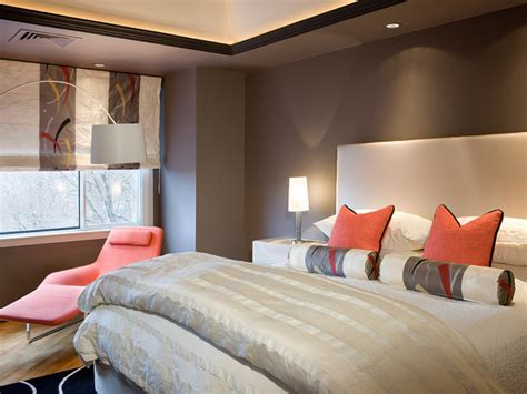livluvdesign color palette gray  orange bedrooms