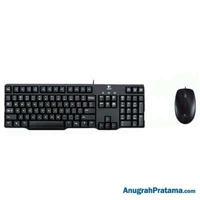 Keyboard Logitech K100 Usb logitech bundle classic k100 ps 2 b100 usb keyboard anugrahpratama
