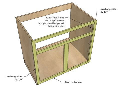 kitchen sink base cabinet plans reanimators