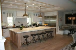 Large Kitchen Islands by Large Kitchen Island With Seating For 6 Interior Design