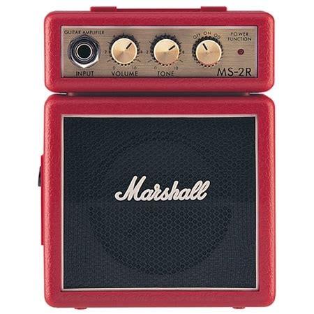 Marshall Ms 2 Portable Micro Lifier marshall ms 2r micro guitar combo dv247