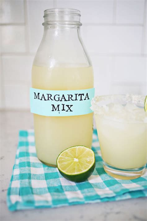 Handmade Margarita - margarita mix a beautiful mess bloglovin