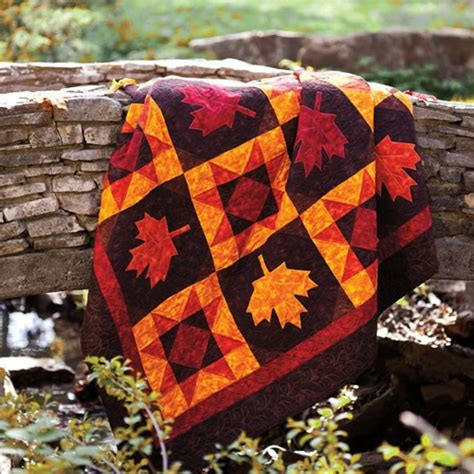 Fall Quilts Bedding 17 Best Images About Maple Leaf Quilts On