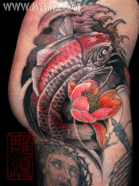 jess yen tattoo koi done at the hell city 08 by jess yen
