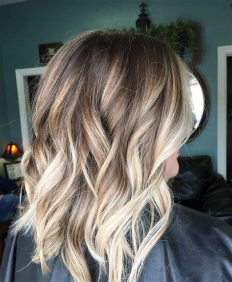 eye catching hair medium brown with blonde highlights 45 bombshell blonde balayage ideas my new hairstyles