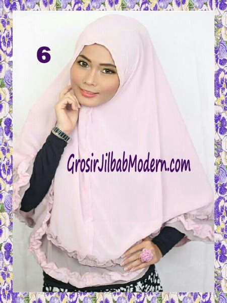 Jilbab Topi Anak Yasmin Jilbab Khimar Cantik Yasmine No 6 Grosir Jilbab Modern