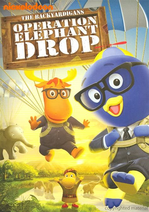 Backyardigans Operation Elephant Drop Thaidvd Value
