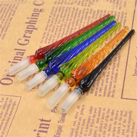 Glass Pen Ink glass dip nib ink pen signature pen writing tool