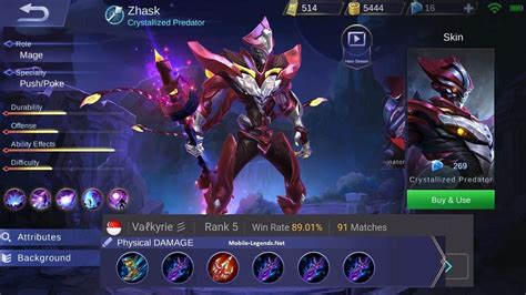 mobile legend damage physical damage zhask build why not 2018 mobile legends