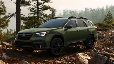 subaru outback 2020 redesign 2020 subaru outback redesign pricing release date
